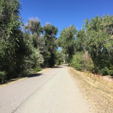 Canal trail.