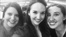Christine, me, and Megan