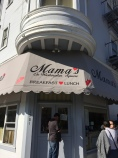 San Fran. Stumbled upon Mama's, the inspiration for a song my producer wrote that I sang when I was fourteen.