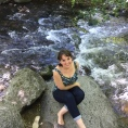 Streamside in Oregon.