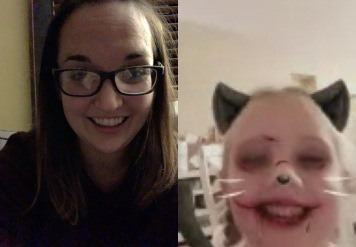 Facetiming with little Isla.