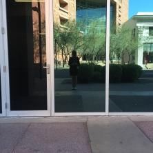 My renaissance outside the Renaissance building in Arizona.