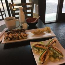 Celebratory sushi because I landed the job!