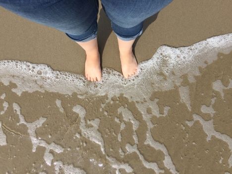 I dipped my toes into the Pacific and the Atlantic ocean from multiple places in the world!
