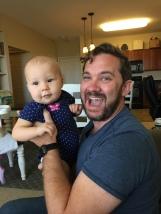 Jason met little Rue!