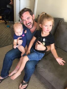 Jas met my nieces.