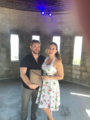 The most magical day of my life so far. Castles by the sea and wands!